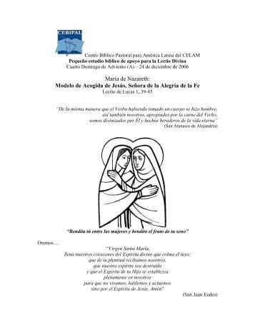 IV Domingo de Adviento, Ciclo C. San Lucas 1, 39 ... - Homiletica.org