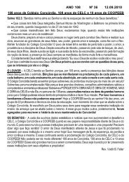 ANO 108 Nº 36 12.09.2010 - Comunidade Evangélica Luterana ...