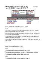 Samstag und Sonntag - Karlsruher Rheinklub Alemannia eV