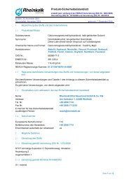 Calciummagnesiumdihydroxidoxid - Rheinkalk