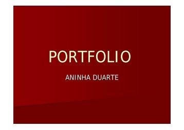 ANINHA DUARTE - Deart - Universidade Federal de Uberlândia