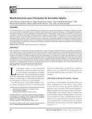 Manifestaciones poco frecuentes de dermatitis ... - edigraphic.com