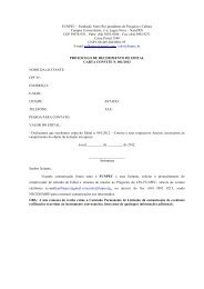 Edital carta convite 001-2012 - Consultoria Pessoa Física - funpec
