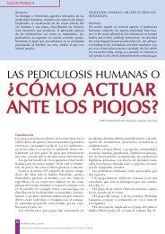 ¿cómo actuar ante los piojos? - Ediciones ROL de Enfermería