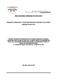 MESA NACIONAL INDÍGENA DE COSTA RICA