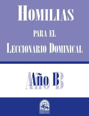 Homilias para el Leccionario Dominical Año B - Iglesia Episcopal en ...