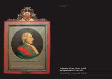 Testimonios del Arte Efímero en Biel por la proclamación de Carlos IV