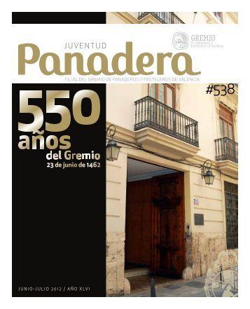 Junio 2012 - El Gremio de panaderos y pasteleros de Valencia