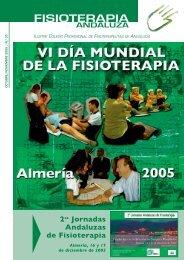 FISIOTERAPIA - Colegio de Fisioterapeutas de Andalucía