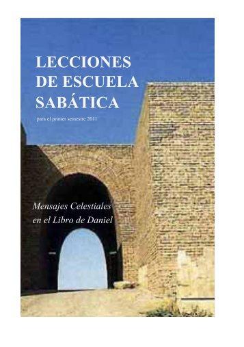 LECCIONES DE ESCUELA SABÁTICA