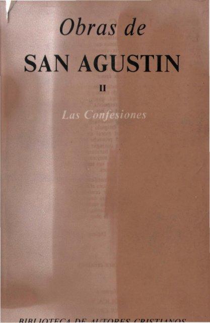Obras De San Agustín Ii Escritura Y Verdad