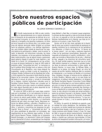 Sobre nuestros espacios públicos de participación - Cubasource