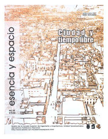 en línea - Revista esencia y espacio - Instituto Politécnico Nacional