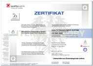 Hirschmann Automotive Gmbh ISO 9001:2008