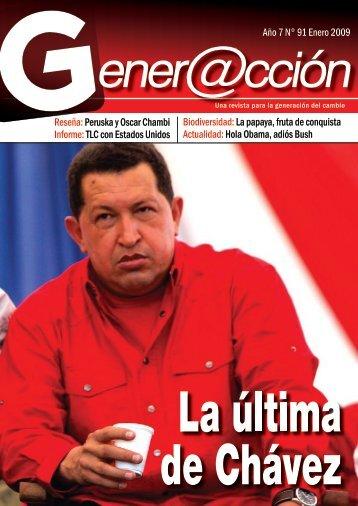 Año 7 N° 91 Enero 2009 Reseña: Peruska y ... - Generaccion.com
