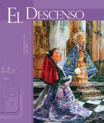 revista el descenso.indb - Cofradía de la Virgen de la Capilla