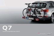 Accesorios Originales Audi: Audi Q7 - Audi Accesorios