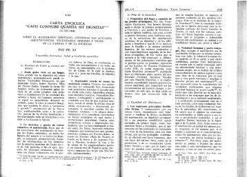 encíclica Casti Connubii de Pio XI - El Cruzado