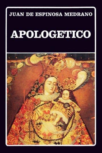 Juan de Espinosa Medrano: Apologético - iberoamericanaliteratura