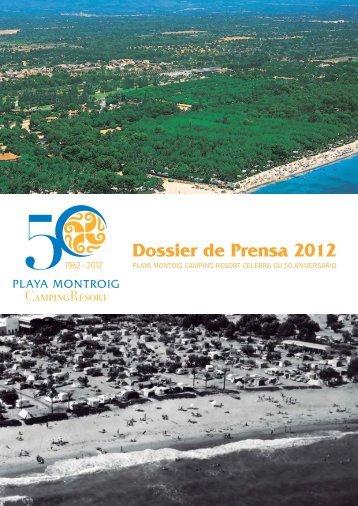 Dossier de Prensa 2012 - Playa Montroig