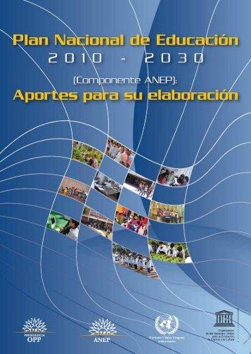 Plan Nacional de Educación (2010-2030) - ANEP