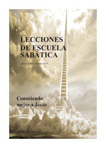 lecciones de escuela sabática - Sociedad Misionera Internacional...