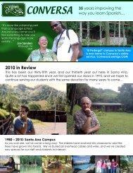 Conversa Presentation - Package Costa Rica