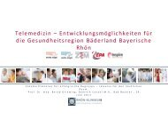 Prof. Dr. med. Bernd Griewing, Rhön-Klinikum AG - Landkreis Rhön ...