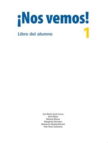 ¡Nos vemos! 1 - Libro del alumno - Unidad de muestra