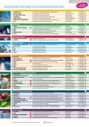 Flyer des Bayerischen Messeprogramms (PDF 412 KB)
