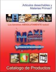 bajar catalogo de productos - Maxi Envases