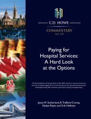 Paying for Hospital Services: A Hard Look at the Options