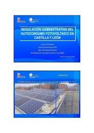 regulación administrativa del autoconsumo fotovoltaico en ... - Ifema