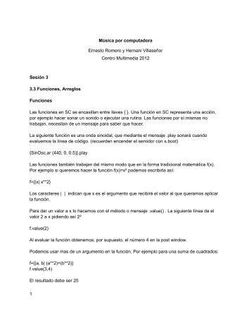 PDF sesión 3 - Centro Multimedia