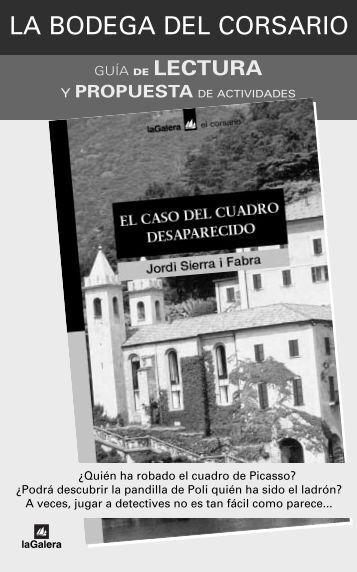 P.Lect. EL CASO DEL CUADRO - La Galera