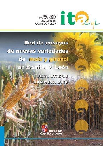Red de ensayos de nuevas variedades de maíz y girasol en Castilla ...