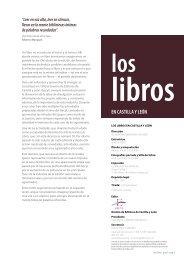 Los libros en Castilla y León Nº 18 - Diciembre 2007 - Gremio de ...