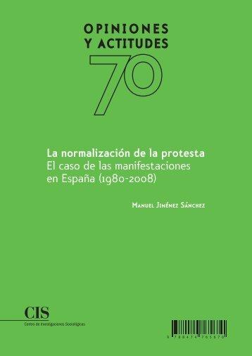 La normalización de la protesta - Centro de Investigaciones ...