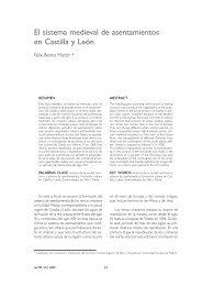El sistema medieval de asentamientos en Castilla y León