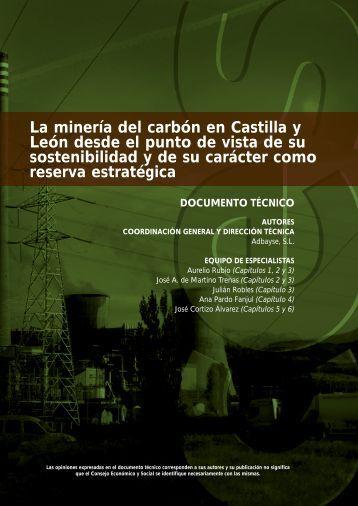 La minería del carbón en Castilla y León desde el punto de vista de ...