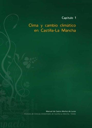 Capítulo 1. Clima y cambio climático en Castilla-La Mancha