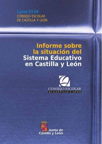 Informe sobre la situación del Sistema Educativo en Castilla y León