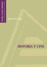 HISTORIA Y CINE - Publicaciones de la Universidad de Alicante