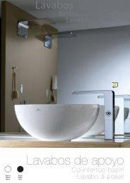 Lavabos baño Noken Porcelanosa. Catálogo de lavabos. - Venespa