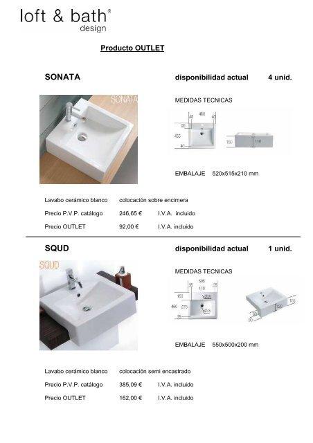 Colocacion Lavabo.Lavabos Outlet 020211