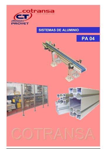 Sistema modulares de aluminio estructural Descargar - Cotransa