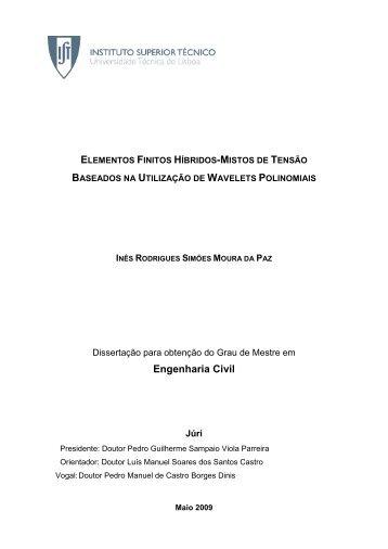 Engenharia Civil - Universidade Técnica de Lisboa