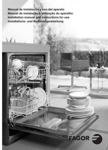 Manual de instalación y uso del aparato Manual de ... - Fagor