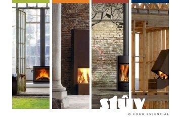 Catalogo Completo Lareiras STUV - Pedra e Decoração