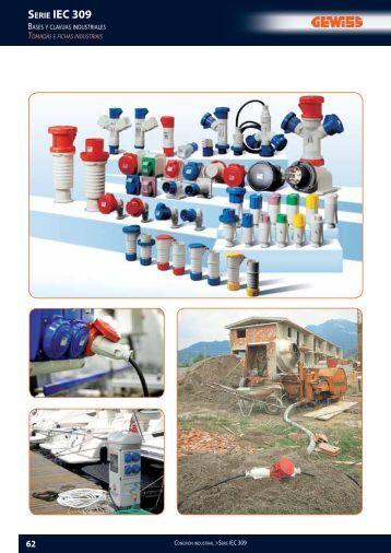 Catalogo Gewiss bases y clavijas industriales - Grupo Blasco